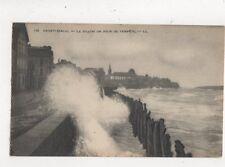 Saint Malo Le Sillon Jour de Tempete France [LL 135] Vintage Postcard 806a