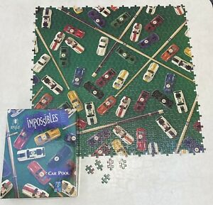 Bepuzzled Impossibles Car Pool Borderless Jigsaw Puzzle - Complete! 750+5 Pieces