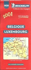 Michelin Map of Belgium & Luxembourg, Map # 909 (International Edition)