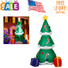 Christmas Inflatable Tree with LED Light Indoor Outdoor Yard Lawn Decoration 6Ft