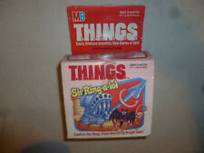 VINTAGE MILTON BRADLEY THINGS SIR-RING-A-LOT MB 1986 FLY-BY-KNIGHT BATS GAME KID