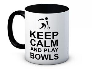 Keep Calm and Play Bowls - Bowling High Quality Ceramic Coffee Mug
