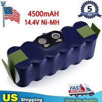 For iRobot Roomba Vacuum 14.4V 4500mAh Battery 500 700 880 900 960 980 NI-MH NEW
