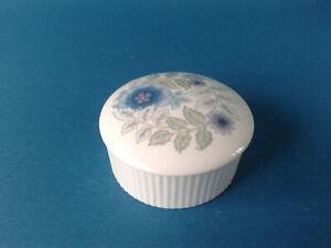 Wedgwood Hydrangea Pattern Trinket Box