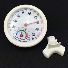 Mini Indoor Outdoor Wall Thermometer Temperature Wet Hygrometer Meter UP S_S r6
