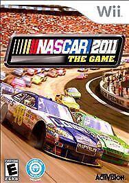 NASCAR The Game 2011 - Nintendo  Wii Game