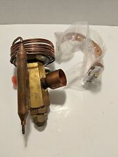 """A197 Virgina Chemicals Expansion Valve 7/8"""" 1/2"""" Solder 3/16"""" Id Threaded 3 Way"""