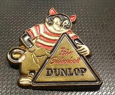 Dunlop Brosche lackiert 32x30 mm Für Sicherheit Dunlop alt+original