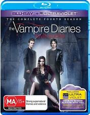 Vampire Diaries : Season 4 (Blu-ray, 2013, 4-Disc Set)..NEW & SEALED  D3630