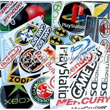 30+ SPORTS & HOBBY STICKERS Clearance & Second Quality Vinyl Decals