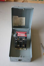 Square D 8903 Type S Lighting Contactor SMG 1 Ser A w/ Enclosure