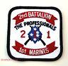 US 2ND BATTALION 1ST MARINES DIVISION PATCH MCB PENDLETON