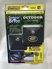 Sensor Brite Outdoor LED Light,12 of 2Pack, As Seen On TV NEW total of 24 lights