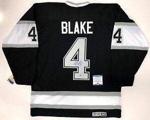 ROB BLAKE SIGNED LOS ANGELES KINGS 1993 STANLEY CUP CCM JERSEY BECKETT COA