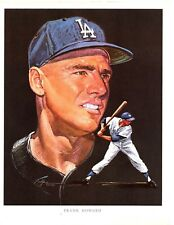 """Frank Howard """"Los Angeles Dodgers"""" Licensed 1962 Union 76 8x10 Paper Photo A1"""