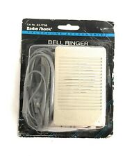 Radio Shack Bell Ringer 43-175B Telephone Accessories Extension Loud Bell Phone