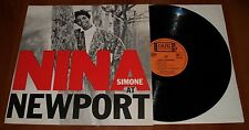 NINA SIMONE AT NEWPORT LP *RARE* 1967 COLPIX RECORDS MONO PRESS VINYL LTD COVER