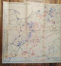 PRE-WWII German Military Map - E.S. Mittler & Sohn, Berlin / Ca. 1935 (PLAN 8)