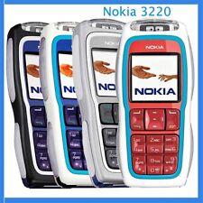 Téléphone Nokia 3220 avec batterie et chargeur - débloqué tout opérateur - Rouge