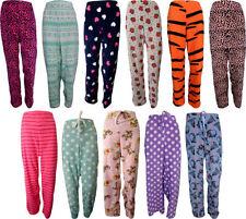 Full Length Pyjama Bottoms for Women's Fleece