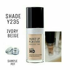 MAKEUP FOREVER ULTRA HD FOUNDATION *MINI SAMPLE POT* SHADE Y235 IVORY BEIGE
