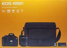 CANON EOS 4000D Spiegelreflexkamera und 18-55 mm Objektiv und Zubehörpaket - Neu