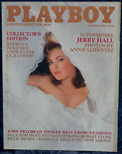 "Magazine PLAYBOY October 1985 !!JERRY HALL-NUDE!! ""CYNTHIA BRIMHALL-CENTERFOLD"""
