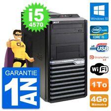 PC Tour Acer Veriton M4630G Intel i5-4570 RAM 4Go Disque Dur 1To Windows 10 Wifi