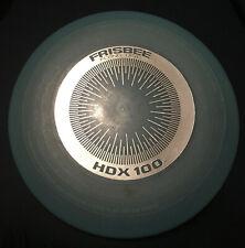 VTG  Late 70's  Wham-o Flying Disc Frisbee   HDX 100. blue
