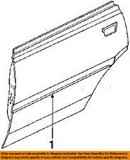 91088GA590 Subaru Sd protector dbr 91088GA590