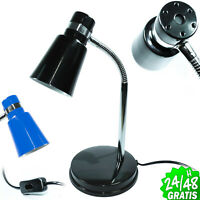 FLEXO BASE LAMPARA FLEXIBLE E14 DE MESA DESK LAMP ESCRITORIO DESPACHO OFICINA