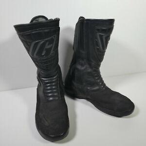 Gaerne DrytechBlack Waterproof Motorcycle Motorbike Boots Size 8 VGC