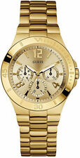 U12631L1 Guess Gold Tone Stainless Steel Multifunction Watch New in Box