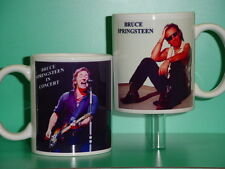 Bruce Springsteen - with 2 Photos - Designer Collectible Gift Mug 01