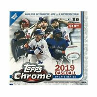 2019 Topps Chrome Update Series Baseball Mega Box Factory Sealed Unopened (Qty)