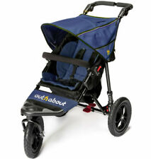 Brand new in box Out n About nipper single 360 V4 pushchair Royal Navy and pvc