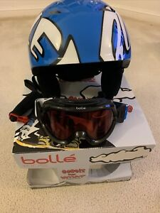 Bolle Kids Goggle And Helmet Pack - New
