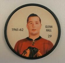 1961-62 Shirriff / Salada Hockey Coin #29 Glenn Hall Chicago Black Hawks