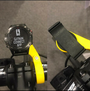 Garmin Fenix 5, 5S, 5X, 6 & 6X Bike adapter and Bar Mount from only £15.00