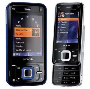 "Unlocked Original Nokia N81 3G GSM WIFI Bluetooth MP3 2.4"" Slider Mobile Phone"