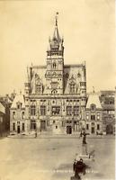 France, Compiègne, L'Hôtel de Ville, ca.1880, vintage albumen print Vintage