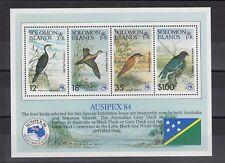 TIMBRE STAMP BLOC ILES SOLOMON Y&T#15 OISEAU BIRD NEUF**/MNH-MINT 1984 ~B63