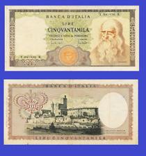 Italy 50000 lire 1970 UNC - Reproduction