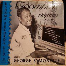"George Symonette - Calypso & Goombay Rhythms: Bahama Records 10"" Vinyl 1955"