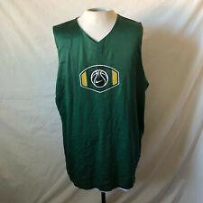 Vintage 90s Nike Reversible Basketball Jersey Xxl Tall 2Xlt Green White Vtg