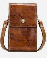 Patricia Nash Rivalta Leather Small Crossbody Bag Map Print-NWOT-Orig. $69.00