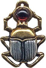 Scarab Amulet for Courage & Protection Egyptian Khemetic Talisman Charm Pendant