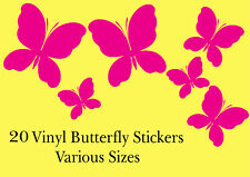 20 Butterfly car van camper vw boat wall art graphics stickers decals