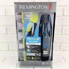 Remington LITHIUM 4-in-1 Cordless VACUUM Trimmer Shaver Multigroom 7000 NEW
