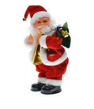 Weihnachtmann Figur Singend Po Tänzer Santa Claus Nikolaus 29 cm